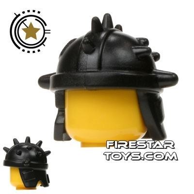 BrickWarriors - Goblin Helmet - Black