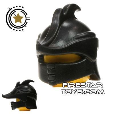 BrickWarriors - Ranger Helmet - Black