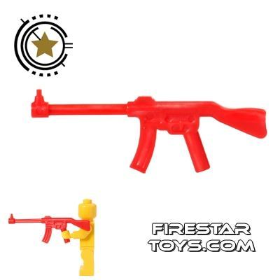 BrickForge - Military Rifle - Red