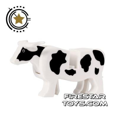 BrickForge Animals Mini Figure - Cow - Holstein