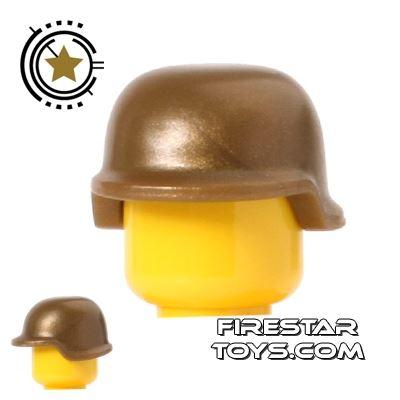 BrickForge - Military Helmet - Bronze