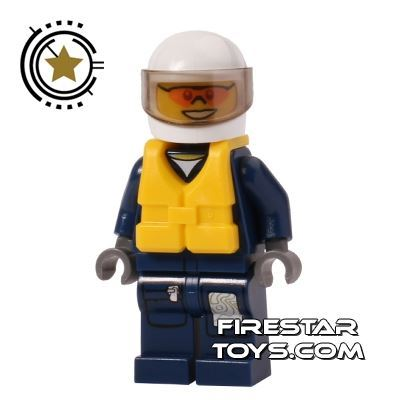 LEGO City Mini Figure - Forest Police Helicopter Pilot 3