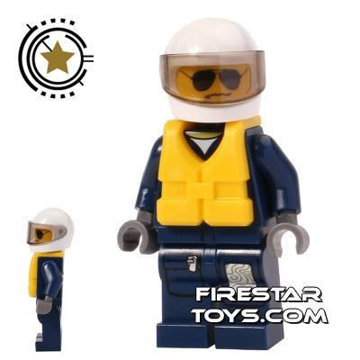 LEGO City Mini Figure - Forest Police Helicopter Pilot 2