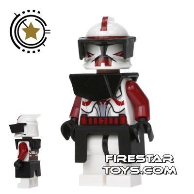LEGO Star Wars Mini Figure - Clone Wars Commander Fox