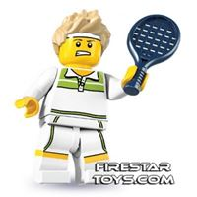 LEGO Minifigures   Tennis Ace