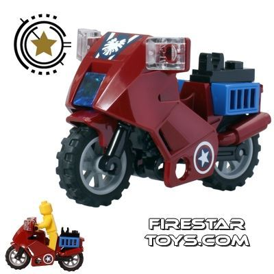 LEGO - Captain Americas Avenging Cycle