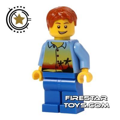 LEGO City Mini Figure - Sunset Top