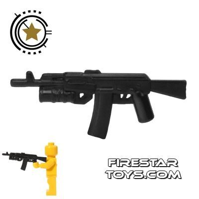 CombatBrick - AK-74 Assault Rifle with Grenade Launcher - Black