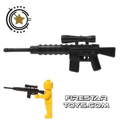 CombatBrick - M110 Semi-Automatic Sniper Rifle - Black