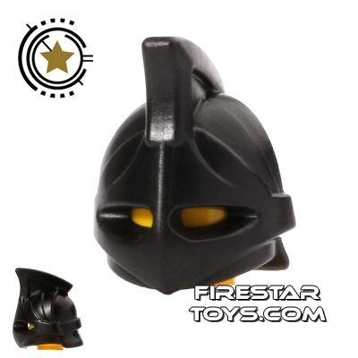 BrickWarriors - Rhino Helmet - Black