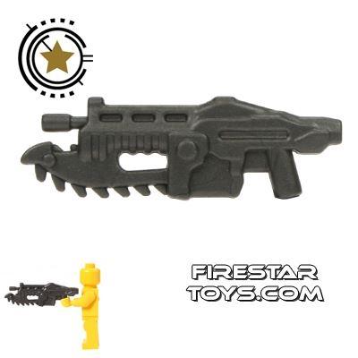 BrickForge - Gears of War - Shredder Gun - Steel
