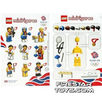 LEGO - Minifigures Olympic Team GB Collectable Leaflet