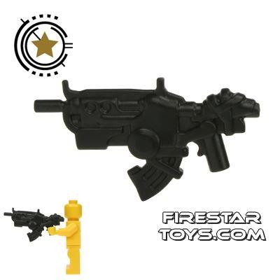 BrickWarriors - Ground Dweller Battle Rifle - Charcoal