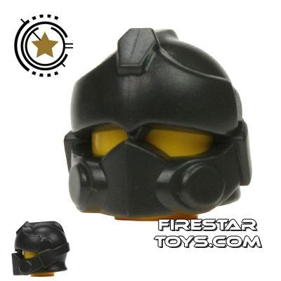 BrickWarriors - Resistance Trooper Helmet - Charcoal