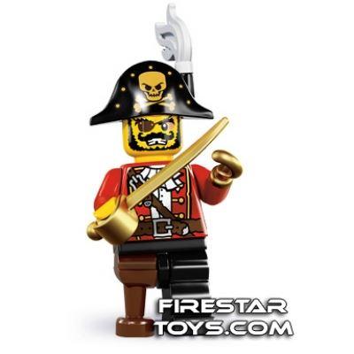 LEGO Minifigures - Pirate Captain