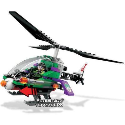 Custom Mini Set - Super Heroes - Jokers Helicopter