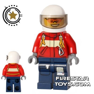 LEGO City Mini Figure - Fire Plane Pilot