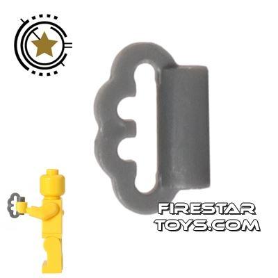 BrickForge - Brass Knuckles - Dark Blueish Gray