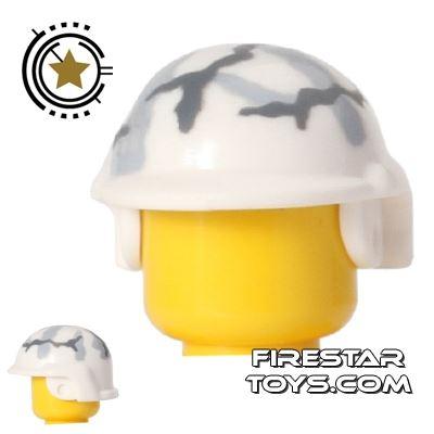 BrickForge - Tactical Helmet - White Camo
