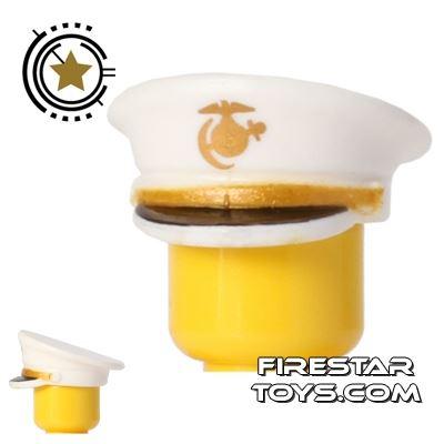 BrickForge - Officer Hat - USMC - White