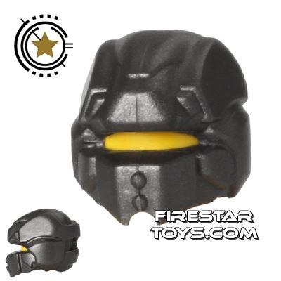 BrickWarriors - Galaxy Enforcer Helmet - Steel