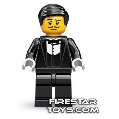 LEGO Minifigures - Waiter