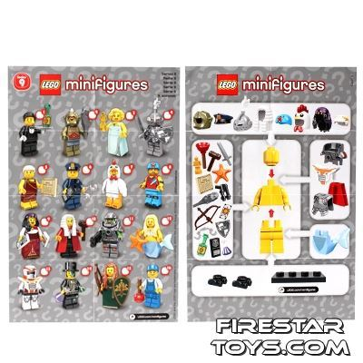 LEGO - Minifigures Series 9 Collectable Leaflet