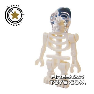 LEGO Indiana Jones Mini Figure - Akator Skeleton