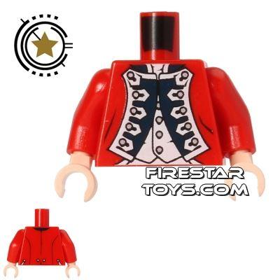 LEGO Mini Figure Torso - Officers Uniform