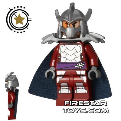 LEGO Teenage Mutant Ninja Turtles Mini Figure - Shredder - Dark Red