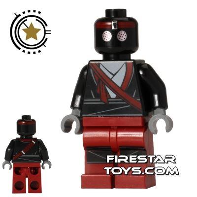 LEGO Teenage Mutant Ninja Turtles Mini Figure - Foot Soldier - Dark Red Outfit