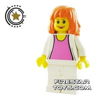 LEGO Spiderman Mini Figure - Mary Jane 3 - White Outfit