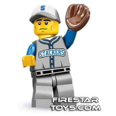 LEGO Minifigures - Baseball Fielder