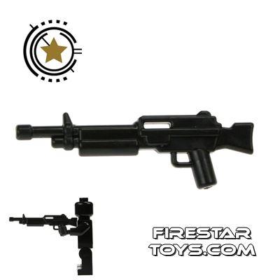 Brickarms - Combat LMG - Black