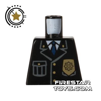 LEGO Mini Figure Torso - No Arms - Police