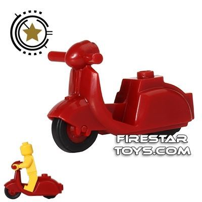 BrickForge - Scooter - Dark Red