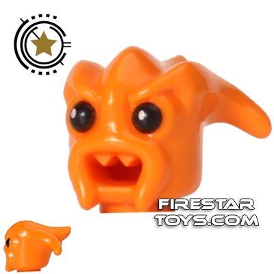 LEGO Mini Figure Heads - Kranxx Alien