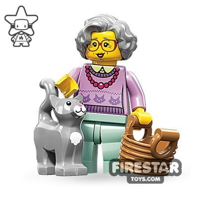 LEGO Minifigures - Grandma