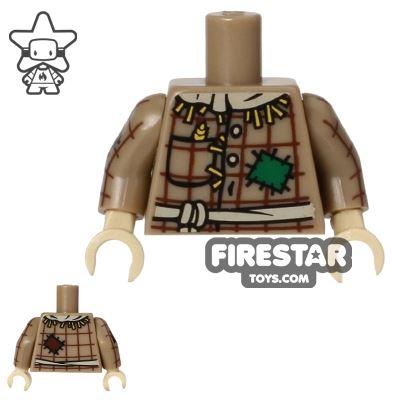 LEGO Mini Figure Torso - Scarecrow