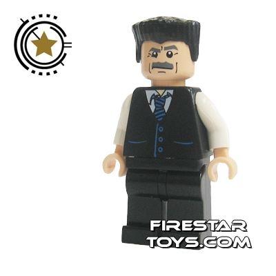 LEGO Spiderman Mini Figure - Jonah Jameson