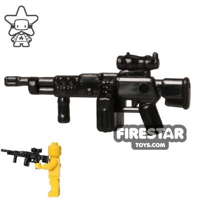 CombatBrick - LSAT Experimental Lightweight Machine Gun - Black