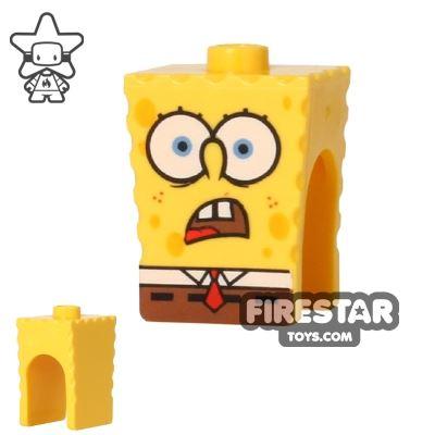 LEGO Mini Figure Heads - SpongeBob SquarePants - Shocked