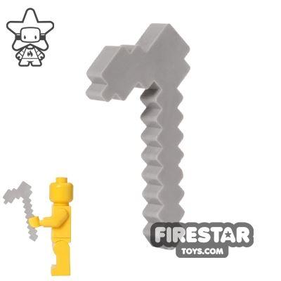 BrickTactical - Minecraft Hoe - Iron