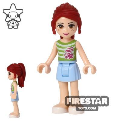 LEGO Friends Mini Figure - Mia - Striped Top