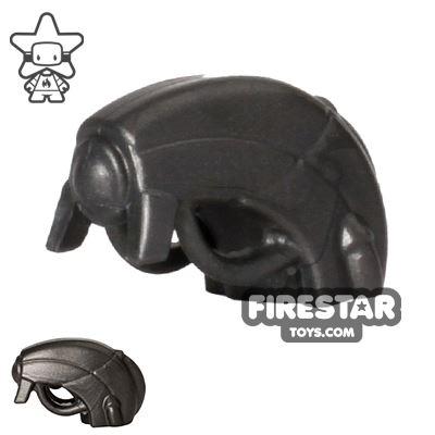 BrickWarriors - Android Head - Steel