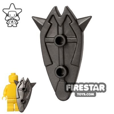 BrickWarriors - Tower Shield - Steel