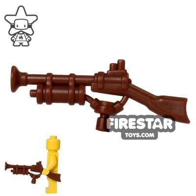 BrickWarriors - Steampunk Rifle - Brown