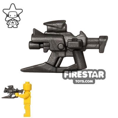 BrickWarriors - Skewer SMG - Steel