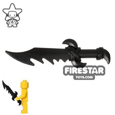 BrickWarriors - Dragon Sword - Black