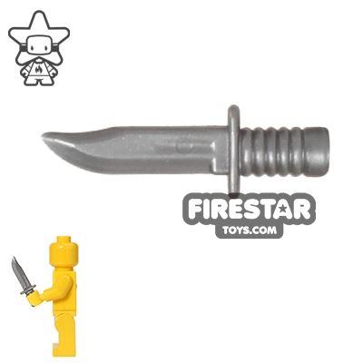 Brickarms - Combat Knife - Silver